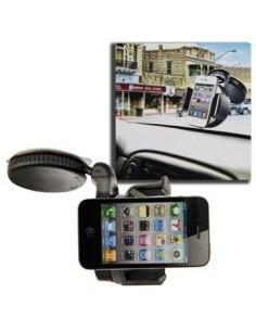 Szélvédőre rögzíthető telefon tartó 50-75mm széles készülékekhez