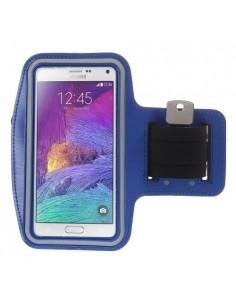 Karra csatolható telefontok futáshoz - 7,5*15,5 cm - KÉK