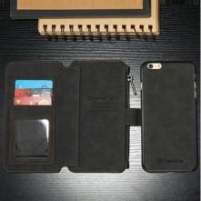 CaseMe notesztok iPhone 6 / 6s telefonhoz - FEKETE