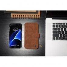 CaseMe notesztok Samsung Galaxy S7 EDGE telefonhoz - BARNA