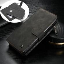 CaseMe notesztok Samsung Galaxy Note 5 telefonhoz - FEKETE