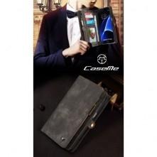 CaseMe notesztok Samsung Galaxy S7 EDGE telefonhoz - SZÜRKE
