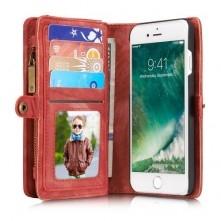 CASEME notesz telefontok Apple iPhone 7 telefonhoz - PIROS