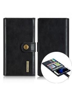 DG. MING notesz tok Samsung Galaxy S7 telefonhoz - FEKETE
