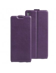 Flip lila tok Sony Xperia XA Ultra telefonhoz