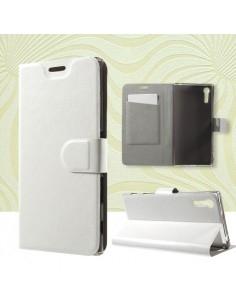 Notesz tok Sony Xperia XZ telefonhoz - FEHÉR