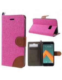Pink - Barna mappa tok HTC 10 / HTC 10 Lifestyle telefonhoz
