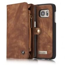 CaseMe notesztok Samsung Galaxy S7 EDGE telefonhoz - KÁVÉ SZÍNŰ