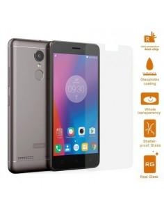 Kijelzővédő karcálló edzett üveg Lenovo K6 típusú telefonhoz