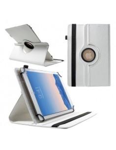 Univerzális 360 fokban forgatható táblagép tok 9-10 inches készülékekhez - FEHÉR