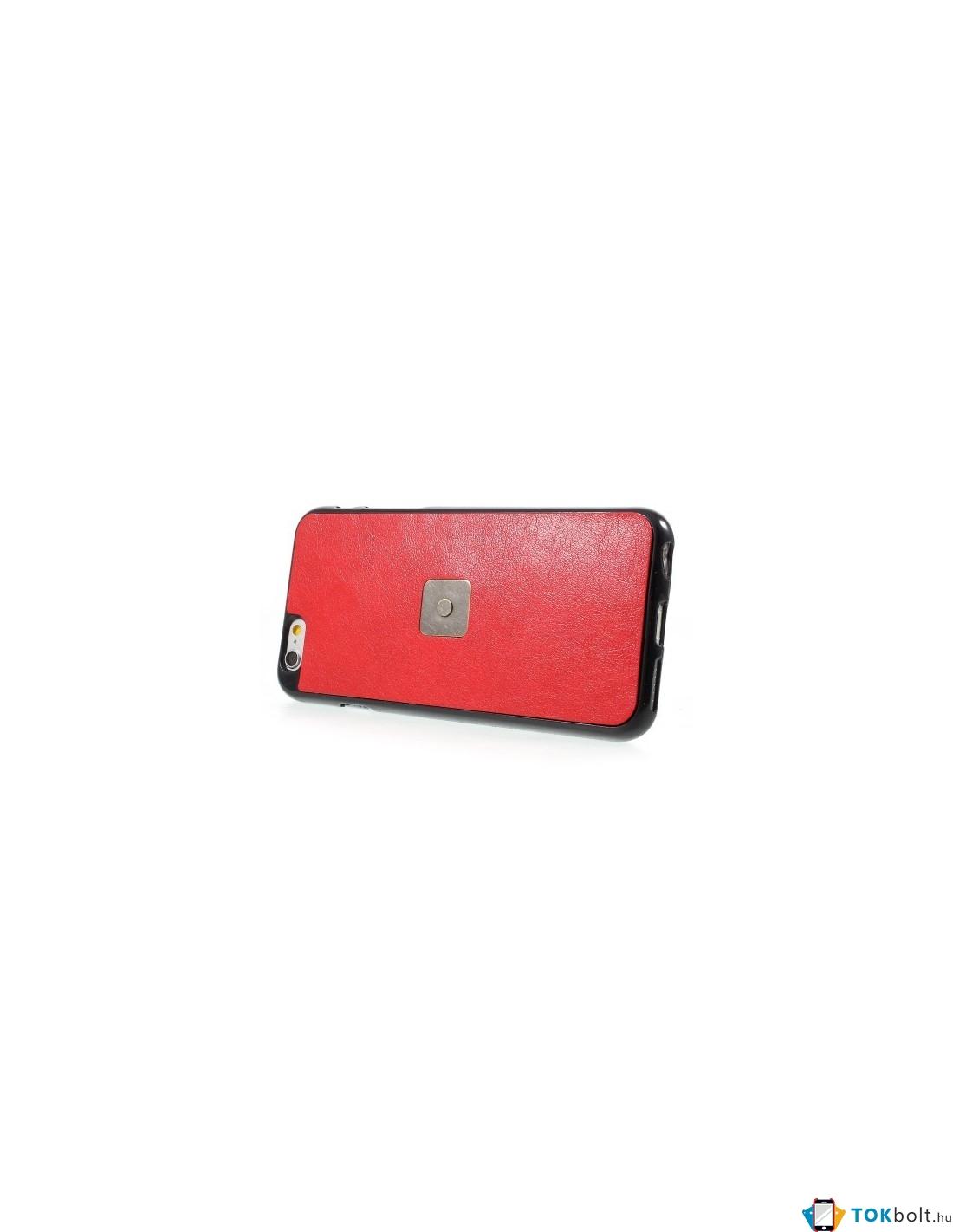 8ca37fd038 SMINK kettő az egyben tükrös telefontok iPhone 6 Plus / 6s Plus telefonhoz  - PIROS