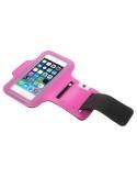 Karra csatolható rugalmas anyagú telefontok sportoláshoz - PINK