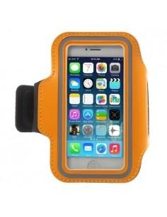Karra csatolható rugalmas anyagú telefontok sportoláshoz - NARANCSSÁRGA