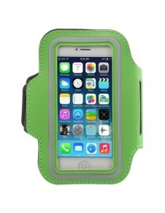 Karra csatolható rugalmas anyagú telefontok sportoláshoz - ZÖLD
