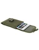 Övre fűzhető csatos mobiltelefon tok 5.5 inches készülékekhez - ZÖLD