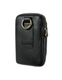 FLOVEME univerzális övre fűzhető fekete színű telefontok - FEKETE
