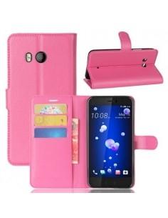 Notesz tok HTC U11 telefonhoz - PINK