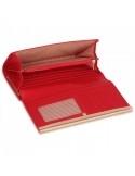 Női műbőr pénztárca - PLSP1050 - PIROS