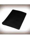 Valódi bőr fekete igazolványtárca és kártyatartó - 11242