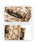 INDEPMAN túra hátizsák 43 x 26 x 23 cm - ZÖLD TEREPMINTÁS