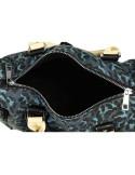 Női táska, kék / leopárd mintás - TA03000HR003