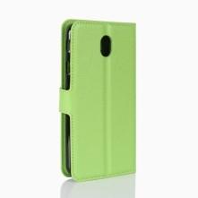 Zöld notesz tok Samsung Galaxy J7 (2017) telefonhoz