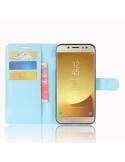 Kék notesz tok Samsung Galaxy J7 (2017) telefonhoz