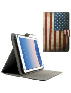 10 inches amerikai zászlós univerzális kinyitható táblagép tok