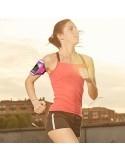 Ultra vékony karra csatolható tok futáshoz - 5.5 colos - PINK