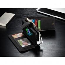 CASEME telefontok Apple iPhone X telefonhoz - FEKETE