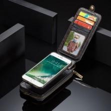 CASEME telefontok Apple iPhone 7 / iPhone 8 telefonhoz - FEKETE