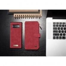 CASEME 2-az-1-ben tok Samsung Galaxy Note 8 telefonhoz - PIROS
