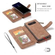 CASEME 2-az-1-ben tok Samsung Galaxy Note 8 telefonhoz - BARNA