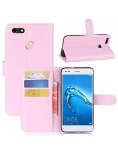 Notesz tok Huawei P9 lite mini készülékhez - RÓZSASZÍN