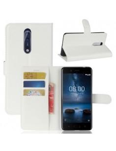 Notesz tok Nokia 8 készülékhez - FEHÉR