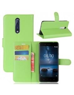 Notesz tok Nokia 8 készülékhez - ZÖLD