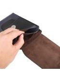 Univerzális övre fűzhető tok maximum 6.3 inches készülékekhez - SÖTÉTKÉK