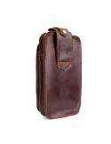 Univerzális övre fűzhető bőrtok maximum 5.5 inches készülékekhez - BARNA