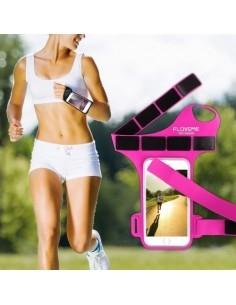 FLOVEME csuklóra csatolható tok futáshoz, sportoláshoz - PINK