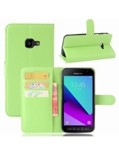 Notesz tok Samsung Galaxy Xcover 4 telefonhoz - ZÖLD
