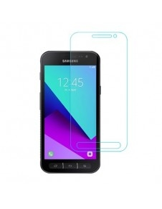 Kijelzővédő karcálló edzett üveg Samsung Galaxy Xcover 4 típusú telefonhoz