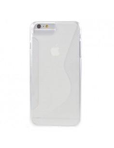 S-line rugalmas tok iPhone 8 Plus /7 Plus/6s Plus/6 Plus telefonhoz - FEHÉR