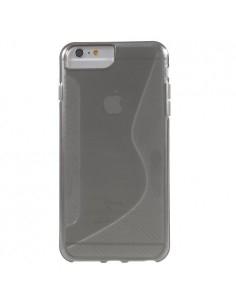 S-line rugalmas tok iPhone 8 Plus /7 Plus/6s Plus/6 Plus telefonhoz - SZÜRKE
