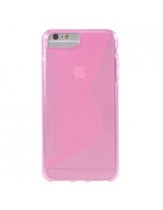 S-line rugalmas tok iPhone 8 Plus /7 Plus/6s Plus/6 Plus telefonhoz - RÓZSASZÍN