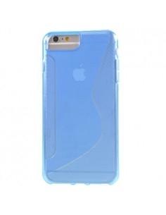 S-line rugalmas tok iPhone 8 Plus /7 Plus/6s Plus/6 Plus telefonhoz - KÉK