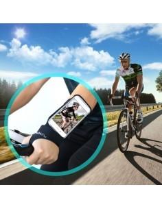 FLOVEME csuklóra csatolható tok futáshoz, sportoláshoz - 4.7 inch - FEKETE