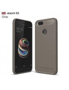 Xiaomi Mi A1 karbon mintás tok - SZÜRKE