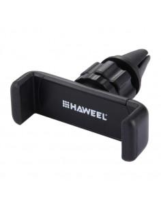 HAWEEL autó szellőzőrácsra rögzíthető telefon autós tartó - FEKETE