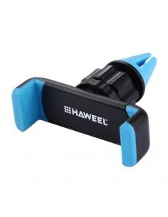 HAWEEL autó szellőzőrácsra rögzíthető telefon autós tartó - KÉK