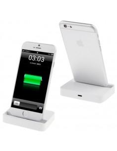 Asztali töltő iPhone X / iPhone 8 & 8 Plus / iPhone 7 & 7 Plus / iPhone 6 & 6s & 6 Plus & 6s Plus / iPad - FEHÉR
